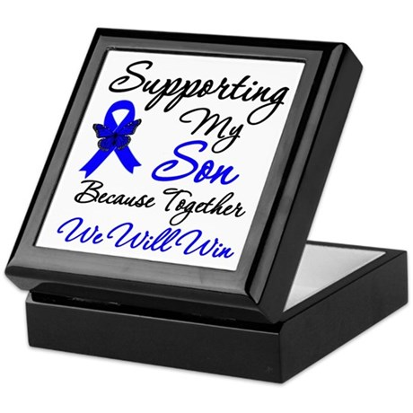 ColonCancerSon Keepsake Box
