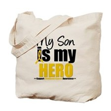 ChildhoodCancer Son Tote Bag