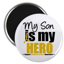 "ChildhoodCancer Son 2.25"" Magnet (10 pack)"