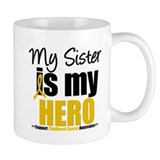 ChildhoodCancer Sister Mug