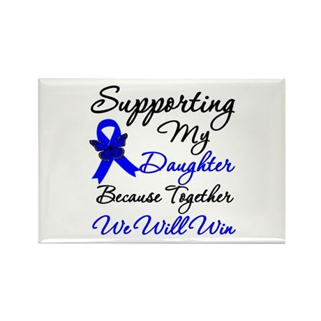 ColonCancerDaughter Rectangle Magnet