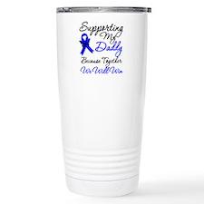 ColonCancerSupport Daddy Travel Mug