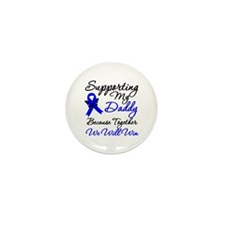 ColonCancerSupport Daddy Mini Button (10 pack)
