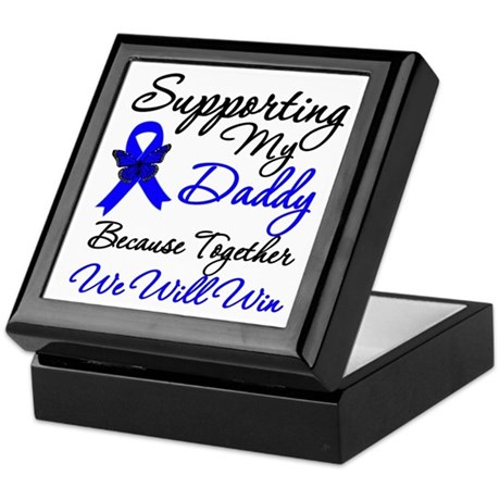 ColonCancerSupport Daddy Keepsake Box