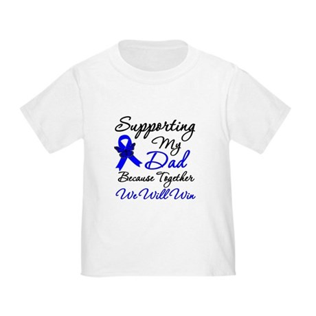 ColonCancerSupport Dad Toddler T-Shirt