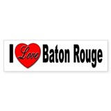 I Love Baton Rouge Bumper Sticker (10 pk)