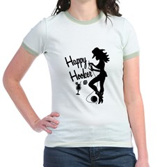 Happy Hooker Jr. Ringer T-Shirt