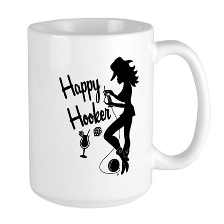 Happy Hooker Large Mug