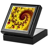 """Esperanza"" Digital Art Keepsake Box"