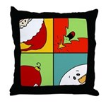 christmas fun Throw Pillow