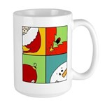 christmas fun Large Mug