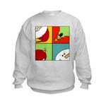 christmas fun Kids Sweatshirt