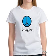 Imagine/Peace Tee