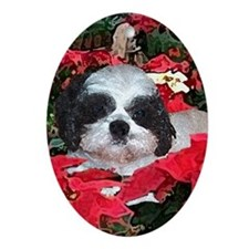 Puff Christmas Collectible Oval Ornament