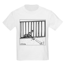 Toilet Paper Rolling Away in Prison T-Shirt