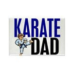 Karate Dad (OF BOY) 3 Rectangle Magnet