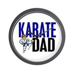 Karate Dad (OF BOY) 3 Wall Clock