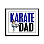 Karate Dad (OF BOY) 3 Framed Panel Print