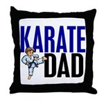 Karate Dad (OF BOY) 3 Throw Pillow
