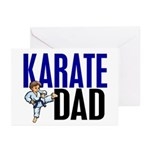 Karate Dad (OF BOY) 3 Greeting Cards (Pk of 10)