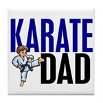 Karate Dad (OF BOY) 3 Tile Coaster