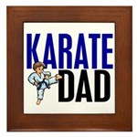 Karate Dad (OF BOY) 3 Framed Tile