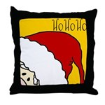 xmas hoho Throw Pillow