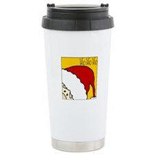 xmas hoho Stainless Steel Travel Mug