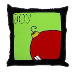 Xmas JOY Throw Pillow