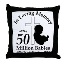 In Loving Memory Throw Pillow