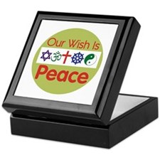 Our Wish PEACE Keepsake Box