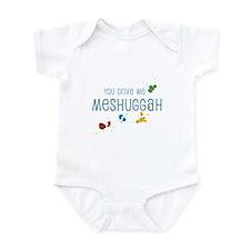 Meshuggah Infant Bodysuit
