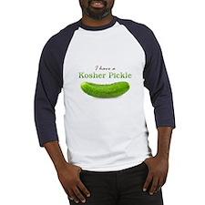 I have a Kosher Pickle Baseball Jersey