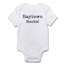 Baytown rocks Infant Bodysuit