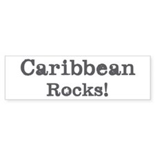 Caribbean rocks Bumper Sticker