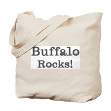 Buffalo rocks Tote Bag