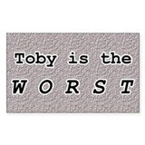 Toby 1.0 Rectangle Decal
