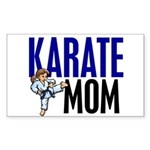 Karate Mom (OF GIRL) 3 Rectangle Sticker