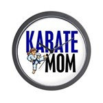 Karate Mom (OF GIRL) 3 Wall Clock