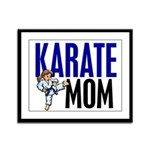 Karate Mom (OF GIRL) 3 Framed Panel Print