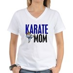 Karate Mom (OF GIRL) 3 Women's V-Neck T-Shirt