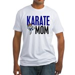 Karate Mom (OF GIRL) 3 Fitted T-Shirt