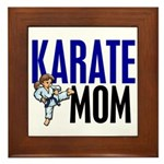 Karate Mom (OF GIRL) 3 Framed Tile