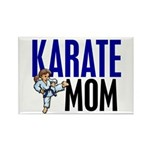 Karate Mom (OF GIRL) 3 Rectangle Magnet (10 pack)