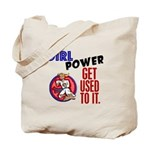 Girl Power 2 Karate Tote Bag
