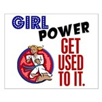 Girl Power 2 Karate Small Poster