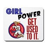 Girl Power 2 Karate Mousepad