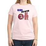 Girl Power 2 Karate Women's Light T-Shirt