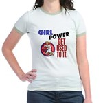 Girl Power 2 Karate Jr. Ringer T-Shirt