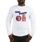 Girl Power 2 Karate Long Sleeve T-Shirt